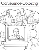 lds general conference coloring packet - Coloring Packets