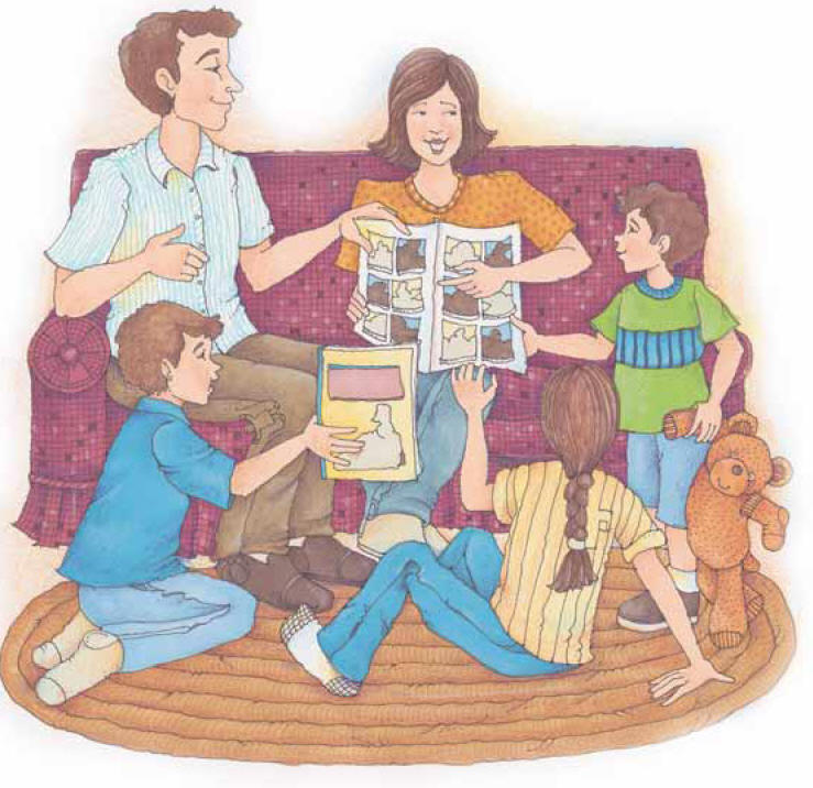 LDS Clipart | family - Part 8