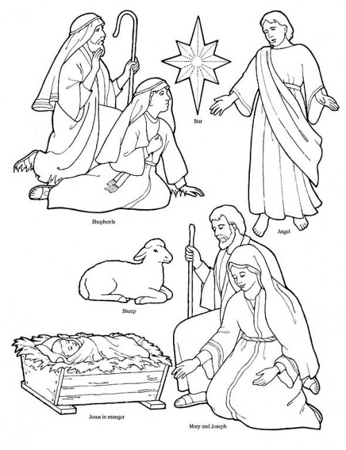 nativity_coloring_page